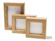 Mini-frame, natural oak