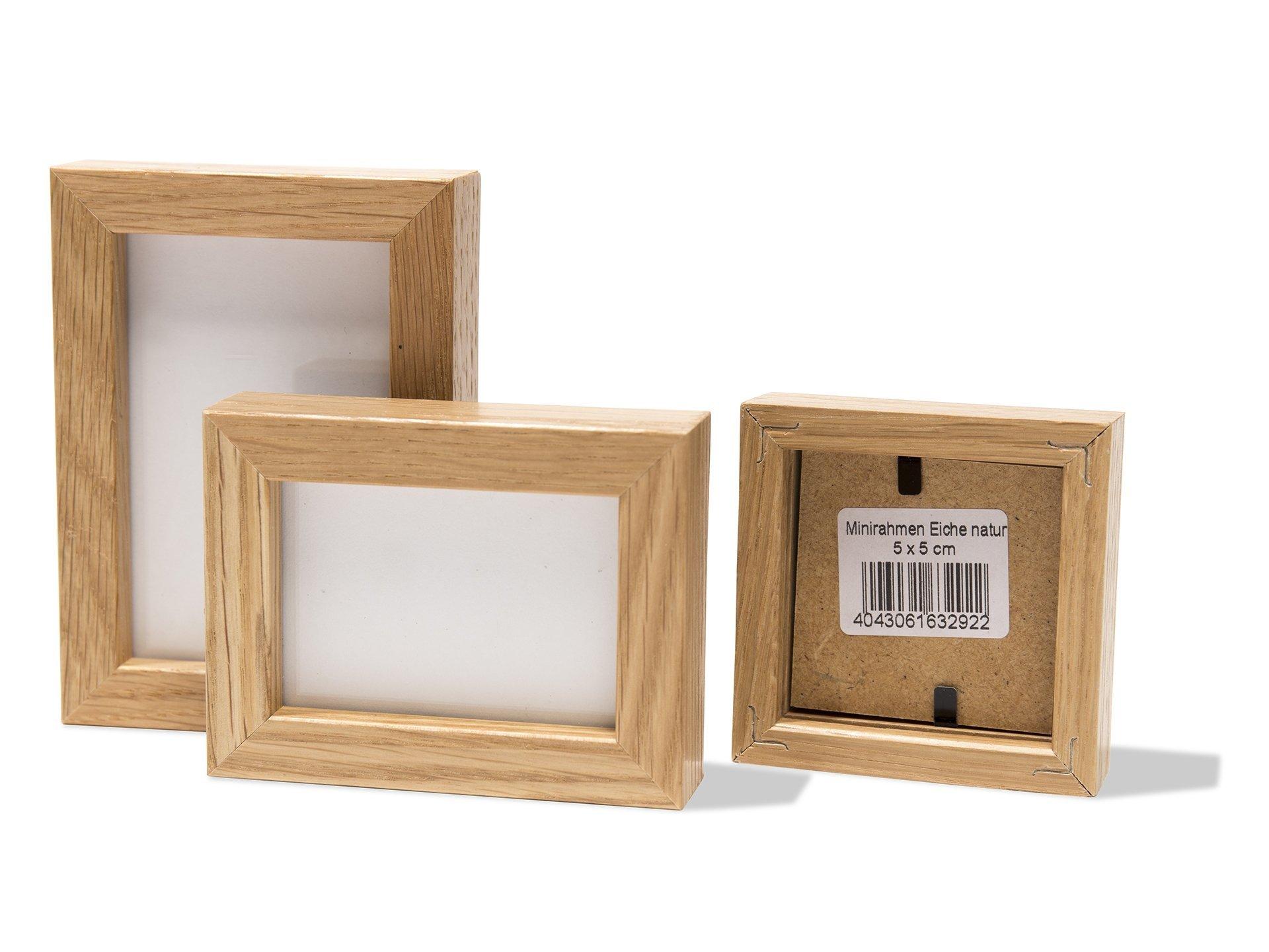 minirahmen eiche natur g nstig kaufen modulor. Black Bedroom Furniture Sets. Home Design Ideas