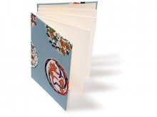 Katazome Japanese paper concertina photo album
