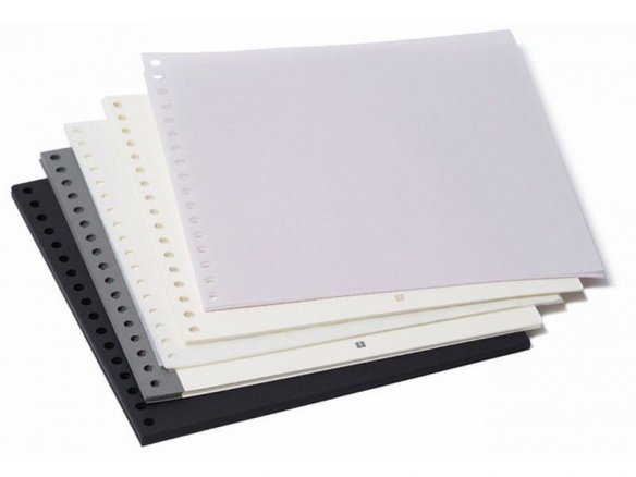 Insert sheets for the Semikolon photo ring binder