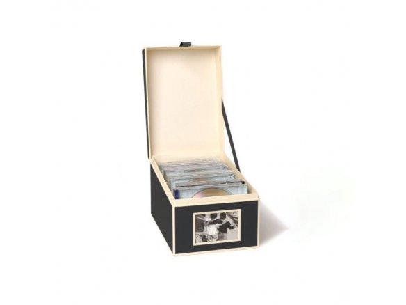 Scatola portafoto/CD Semikolon