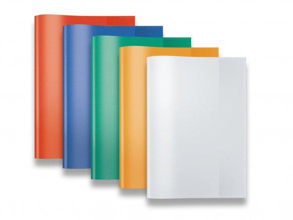 Farbe transparent grün Hefthüllen DIN A4 100 Heftumschläge