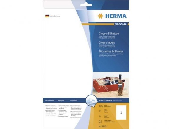 Herma Inkprint Photo-Quality paper, self-adhesive