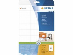 Herma address labels, white