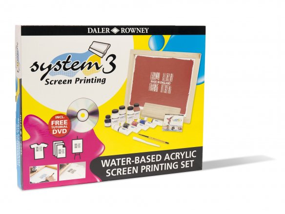 Daler-Downey System 3 screen printing set