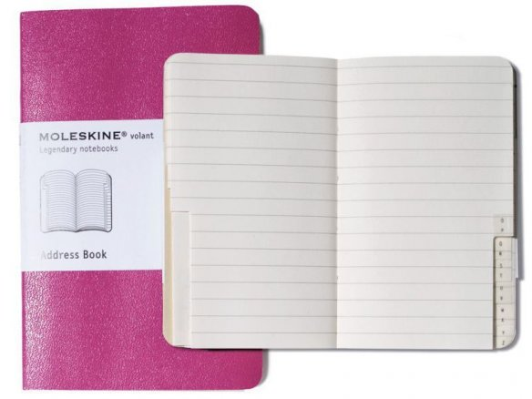 Moleskine Volant address book