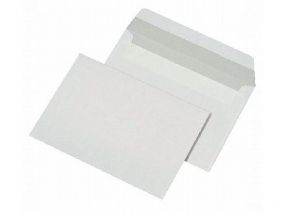 Standard envelope, peel and seal