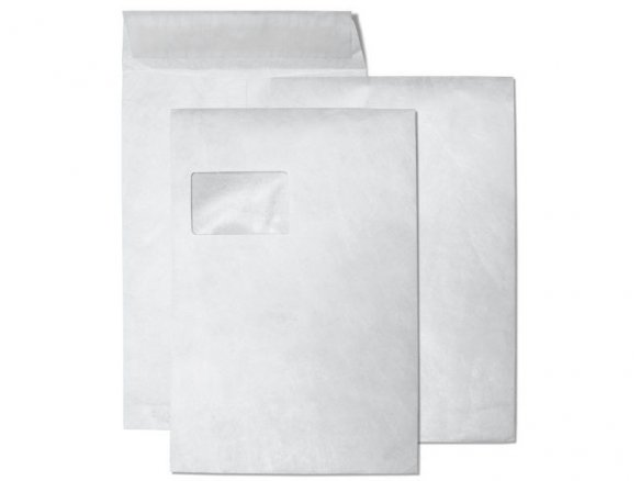 Tyvek mailer, peel and seal