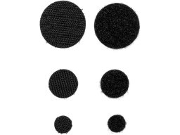 hook and loop dots, self-adhesive, SET
