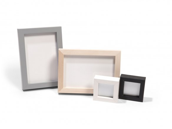 Shop Mini-frames, varying mouldings and colours online at