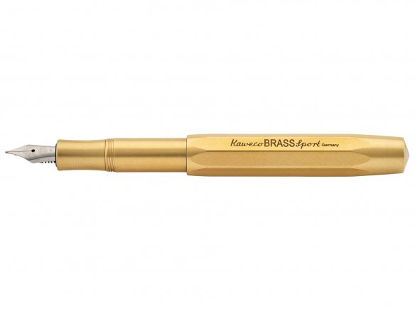 Kaweco fountain pen Brass Sport