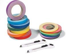 Gaffer tape, matte, rainbow set