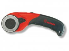 Ecobra rotary cutter for right and left hand use