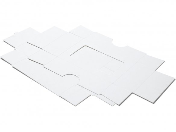 Buy Business Card Box With Cutout White Online At Modulor