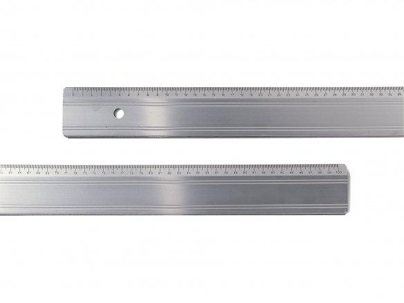 Righello da taglio alluminio bordo acciaio,sottile