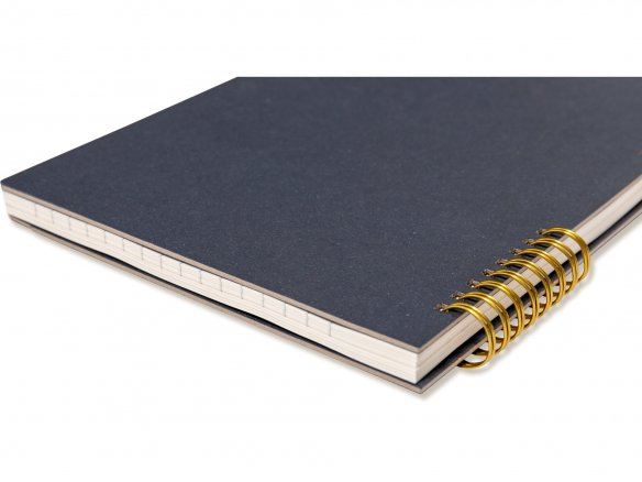 O-Check Design spiral notebook
