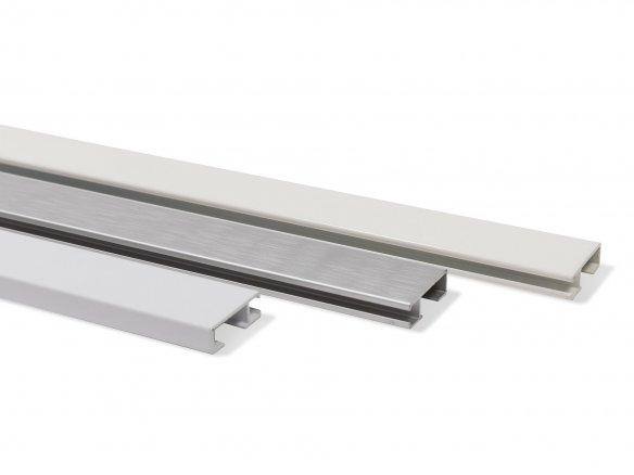 Artiteq galerieschiene click rail kaufen modulor for Bilderschienen ikea