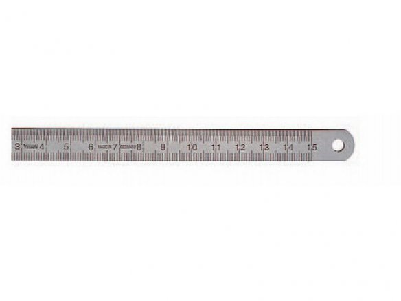 Steel ruler, rust-proof, flexible