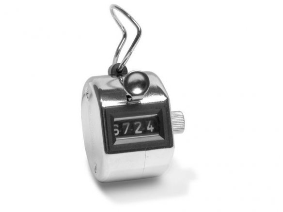 Hand tally counter, mechanical