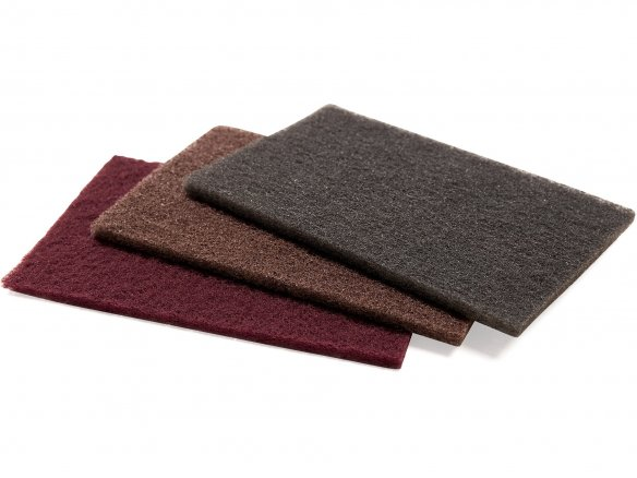 Fleece finishing handpads