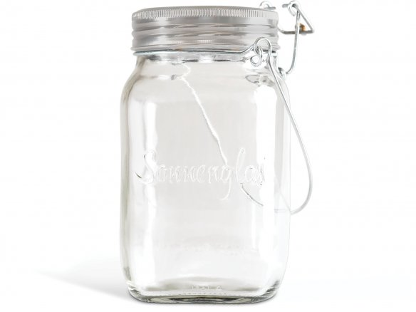 Sonnenglas solar light in preserve jar