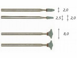 Proxxon silicon carbide grinding bits