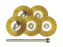 Proxxon brass brushes