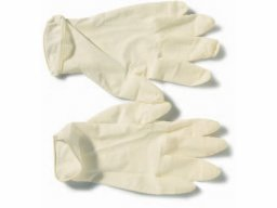 Disposable gloves, Latex