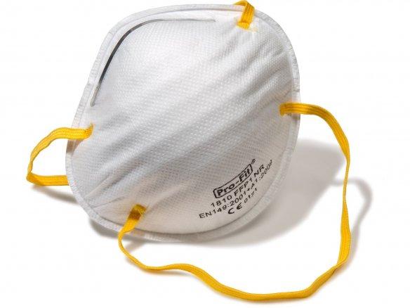 Maschera di protezione da polveri fini