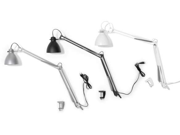 Luxo L1 desk lamp, LED