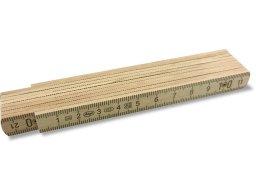 Adga 130 wooden folding rule, l = 1 m