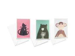 Papermint greeting card