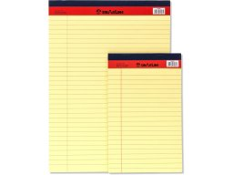 Yellow Legal Pad Notepad