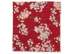 Japanischer Kimonostoff Sakura Chirimen (Blüten)