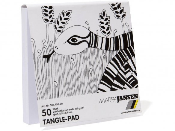 Tangle drawing pad