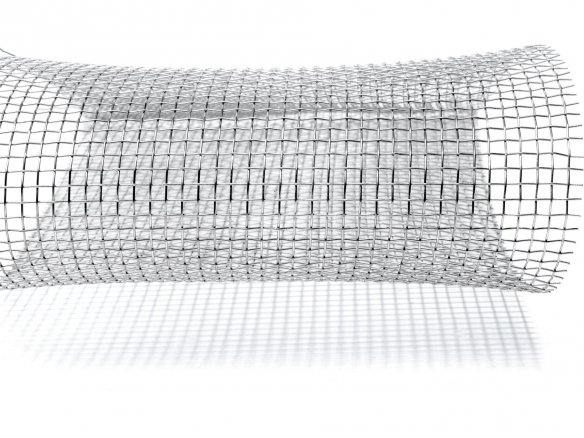 Wire mesh, aluminium, flexible custom cutting