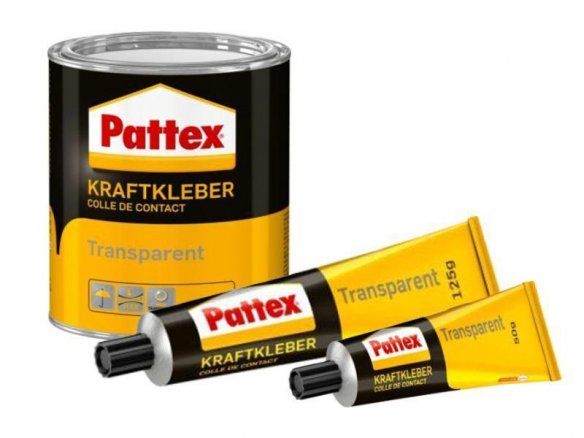 Pattex Transparent power glue
