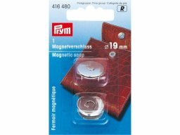 Prym magnetic fastener for bags, glossy