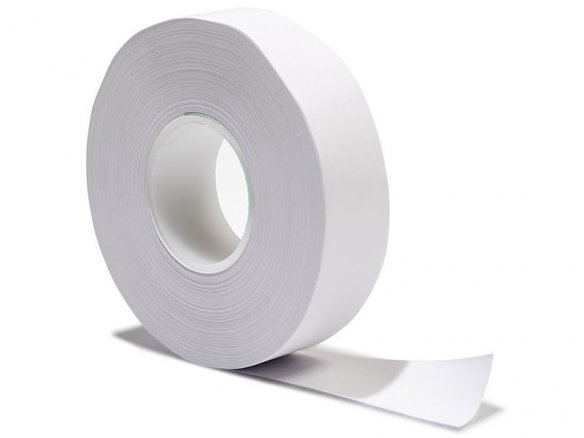 Wet adhesive tape, acid-free