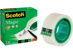 3M Scotch Magic Tape 810 (green), invisible