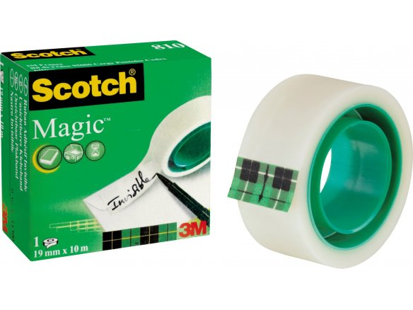 3M Scotch Magic Tape 810 (verde), invisibile