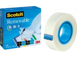 3M Scotch Magic Tape 811 (azúl), removible