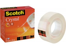 3M Scotch Crystal Clear 600 (rot), transparent