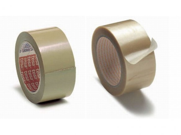Packaging tape, plastic