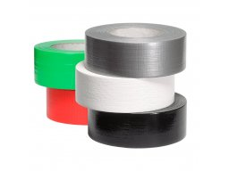 Gaffer fabric adhesive tape, glossy