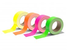 Gaffer tape, matte, neon colours