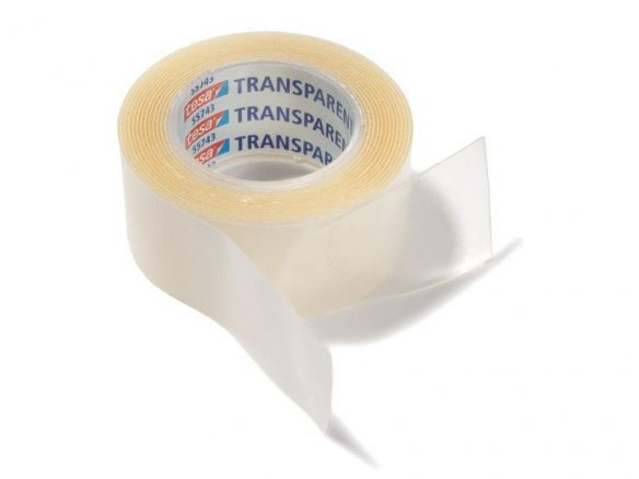 Tesa mounting tape, transparent