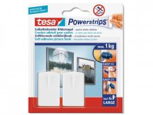 Tesa Powerstrips self-adhesive picture hooks