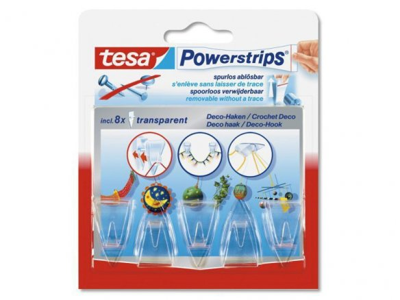 Ganci tesa Powerstrips decorativi