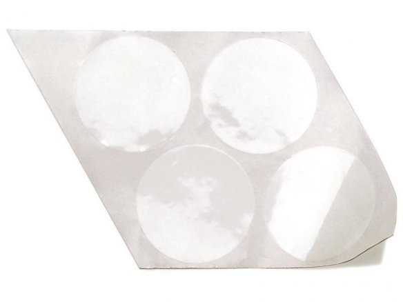 One-sided adhesive dots, PVC-film